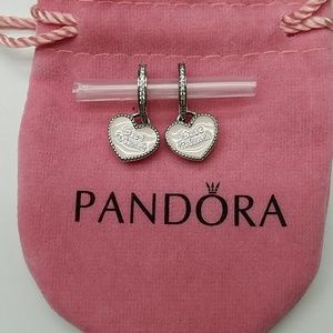 """💕Authentic Two(2) Pandora Charms """"Best Friends"""""""